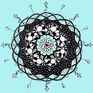 Blue Skies Mandala by eleveneleven