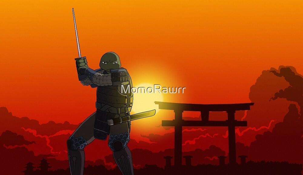 Sunrise Samurai by MomoRawrr