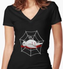 Vamp Kid Couture Women's Fitted V-Neck T-Shirt