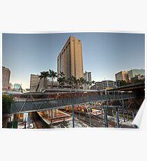 Central Station • Brisbane • Queensland Poster