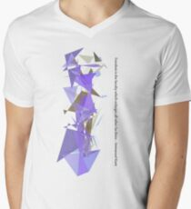 Immanuel Kant - Freedom is intelligence Men's V-Neck T-Shirt
