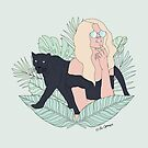 Animal Instinct - Panther by LabelsArts