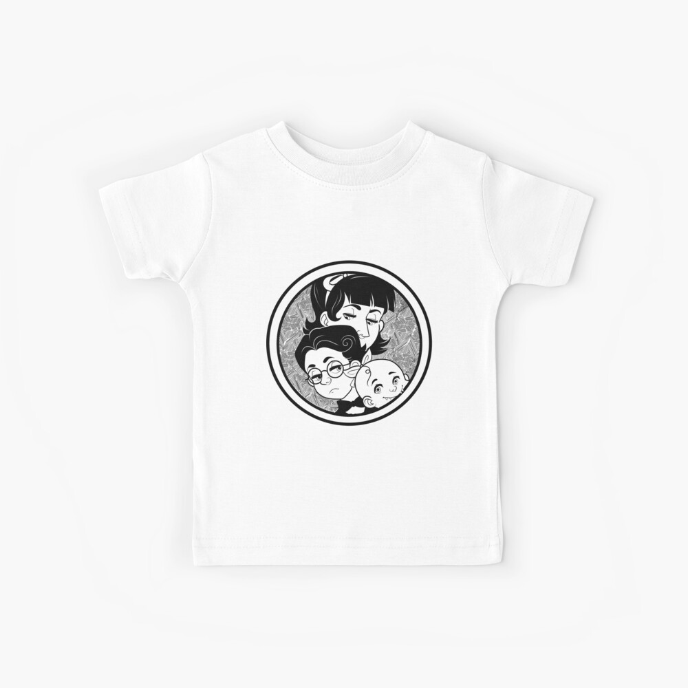 The Baudelaire Orphans Kids T-Shirt