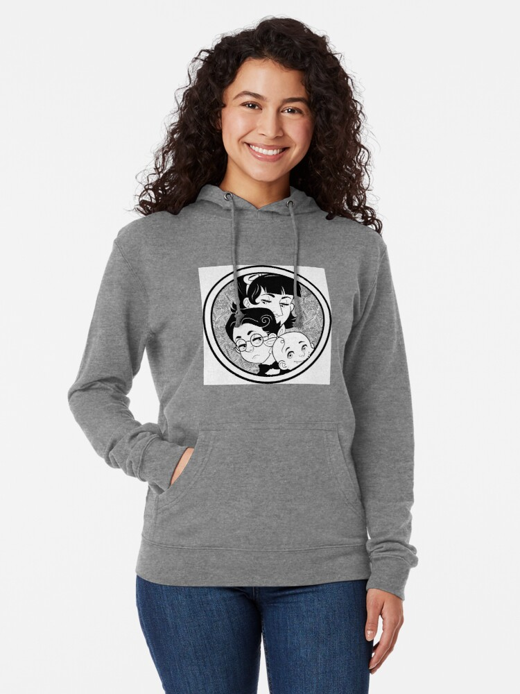 Alternate view of The Baudelaire Orphans Lightweight Hoodie