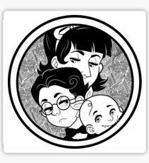 The Baudelaire Orphans Sticker