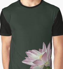 Lotus Flower in the Sun Graphic T-Shirt