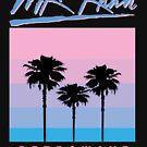 Retrowave Skyline by M.K. Khan