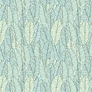 Wild Leaves Pattern by LabelsArts