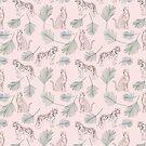 Savanna Pattern by LabelsArts