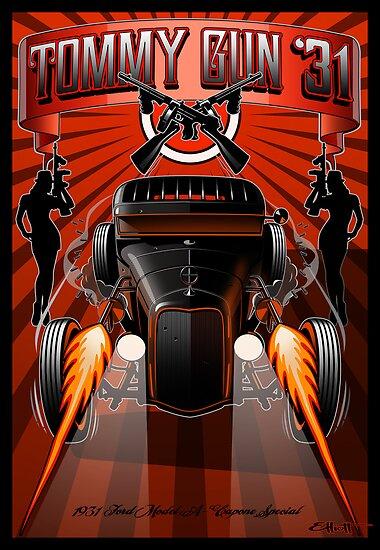 Tommy Gun '31 by Pete Elliott