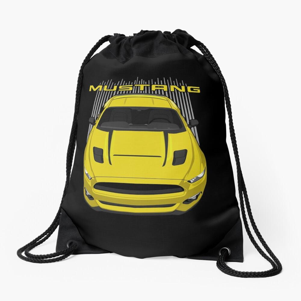Mustang GT CS 2016-2017 - Yellow Drawstring Bag