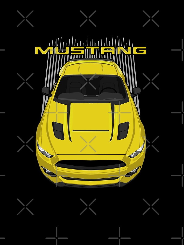 Mustang GT CS 2016-2017 - Yellow by V8social