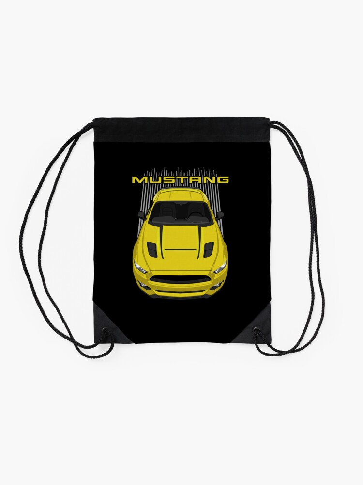 Alternate view of Mustang GT CS 2016-2017 - Yellow Drawstring Bag