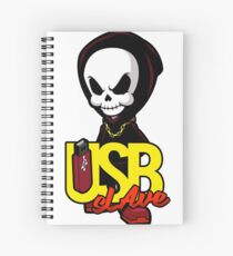 USB sLAve Spiral Notebook