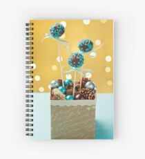 Cake pops Spiral Notebook