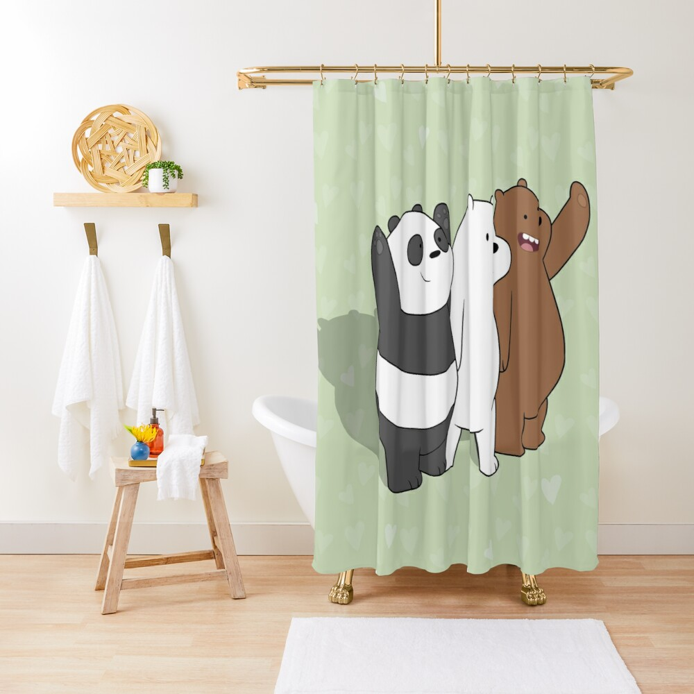 We Bare Bears  Shower Curtain