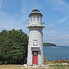 Camp Patmos Lighthouse by Monnie Ryan