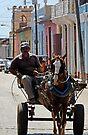 Horse drawn Cart, Trinidad, Cuba by David Carton