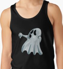 Halloween Booing Ghost Tank Top