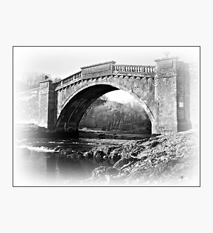 The Arched Bridge. Photographic Print