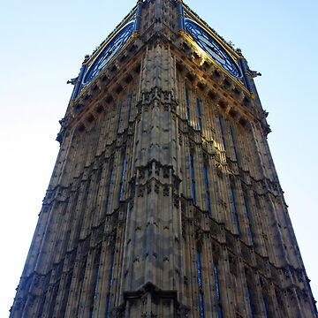 Big Ben at the Houses of Parliament, London by martynbaker52