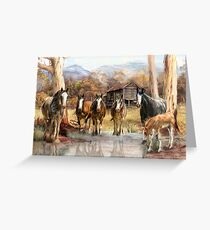 High Country Hideaway Greeting Card