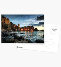 Vernazza Sunset Postcards