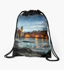 Vernazza Sunset Drawstring Bag