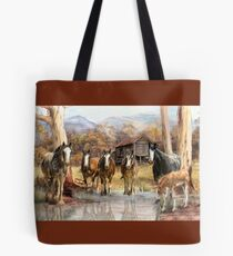 High Country Hideaway Tote Bag