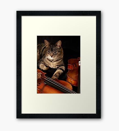 Don't Even Think About It ... Framed Print