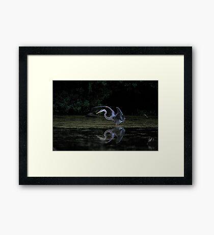 Stretch... Framed Print