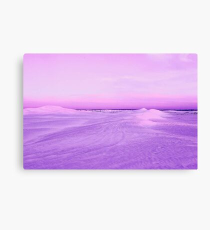 Lancelin Sand Dunes At Dusk  Canvas Print