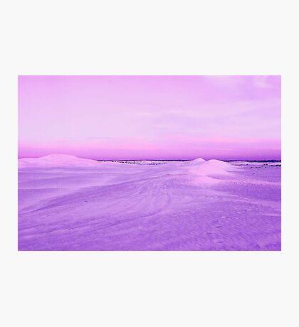 Lancelin Sand Dunes At Dusk  Photographic Print