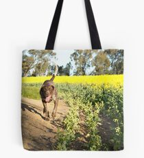 Running Rosie.... Tote Bag