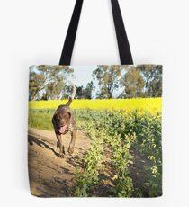 Running Rosie.... Tote Bag