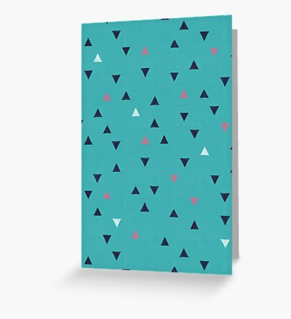 TRY ANGLES / swimming Greeting Card
