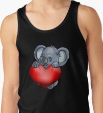 Valentine Koala Tank Top
