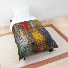 Colorful Grunge Comforter