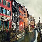 Strasbourg canals by psychoshadow