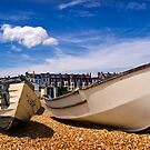 Boats at Walmer by Geoff Carpenter
