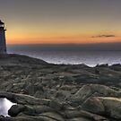Peggy's Cove Lighthouse by Amanda White