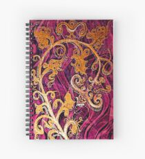 Thai Patterns an acrylic painting Spiral Notebook
