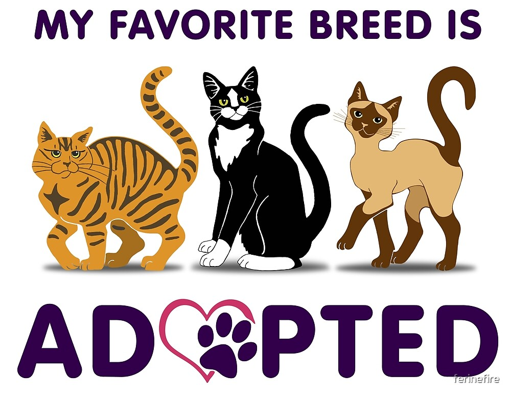 My Favorite Breed is Adopted by ferinefire