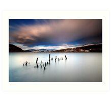 Loch Tay Art Print