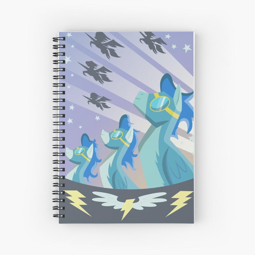 Cartel Wonderbolt Cuaderno de espiral