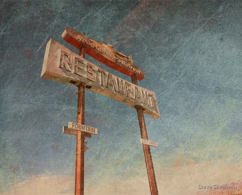Road Runner Restaurant by Steve Silverman