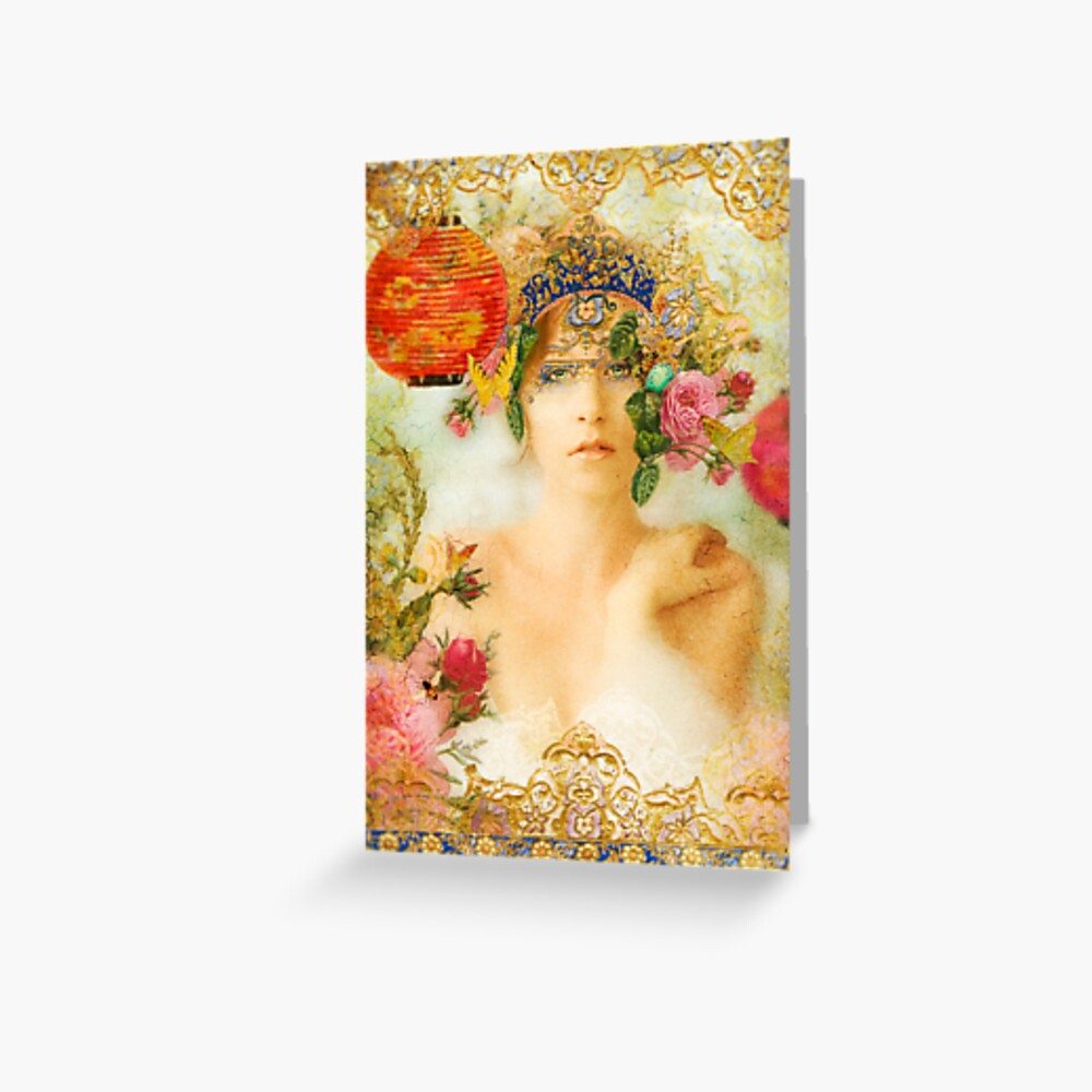 The Summer Queen Greeting Card