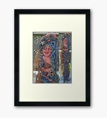 Heavy Metal Mermaids Framed Print