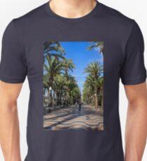 Alicante, Explanada de España Unisex T-Shirt