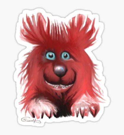 Da Beast Sticker